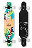 VOLADOR 42inch freeride longboard complete cruiser ( drop through deck - camber concave )(Meditation)