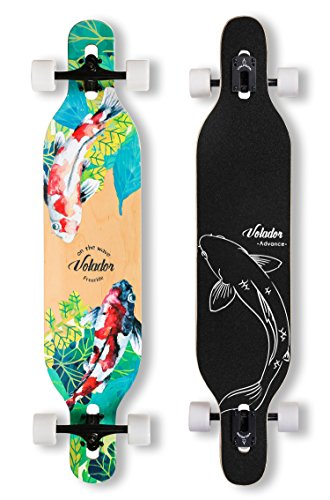 ide Longboard Complete Cruiser (Drop Through Deck - Camber concave)(Meditation) ()
