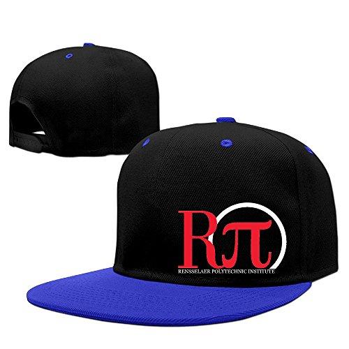 Custom High Quality Unisex-Adult Rensselaer Polytechnic Institute Baseball Hats Caps RoyalBlue -