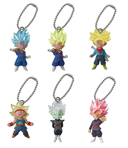 SHOPUS | Dragon Ball Super Goku Black Figure Swing Keychain ~ UDM