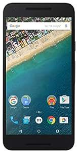 """LG Nexus 5X - Smartphone de 5.2"""" (WiFi, DLNA, procesador Qualcomm Snapdragon 808 de 64 bits y 6 núcleos, memoria interna de 32 GB, memoria RAM 2 GB, Android Marshmallow), color negro"""
