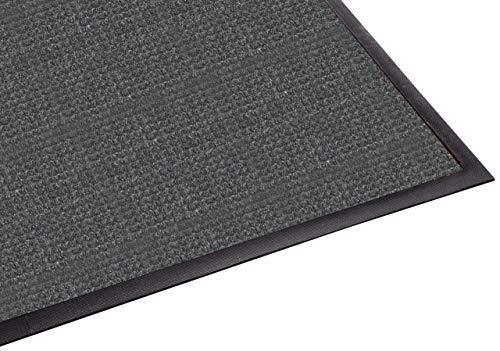 (Guardian WaterGuard Indoor/Outdoor Wiper Scraper Floor Mat, Rubber/Nylon, 3'x4', Charcoal (Renewed))