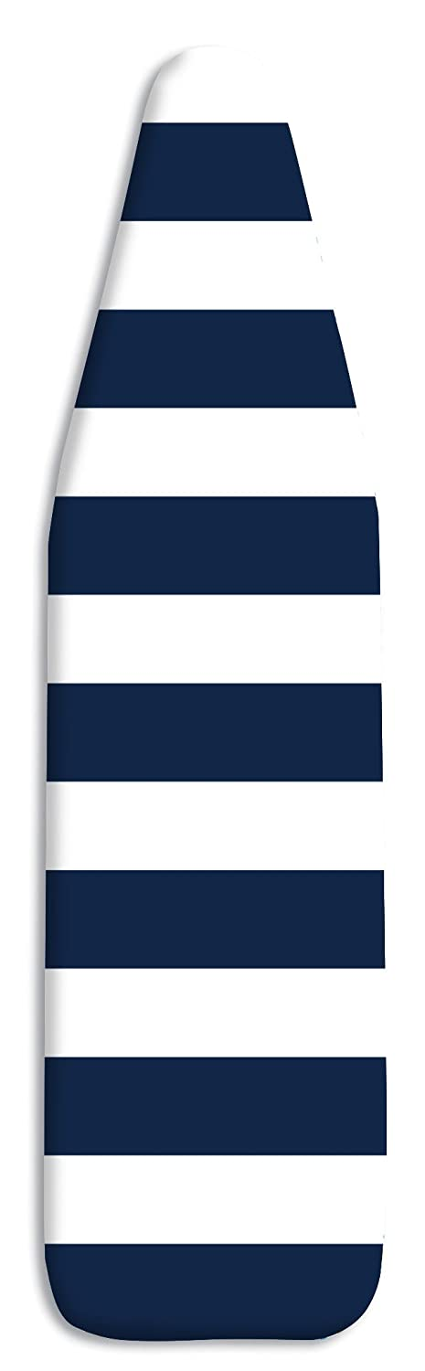 Whitmor 6880-100-STRNAVY Scorch Resistant Ironing Board Cover & Pad-Stripe, Navy