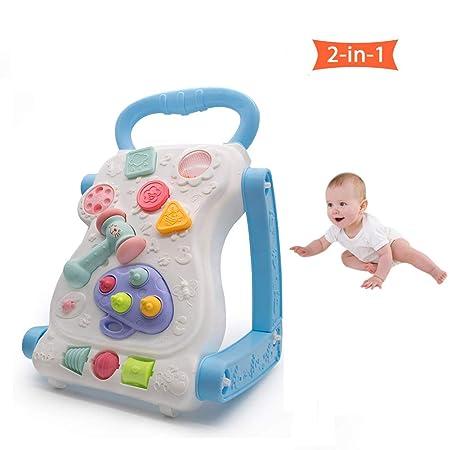 HBIAO - Andador de Actividades 2 en 1 para bebé, Centro de ...