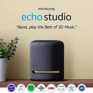 Best Epic Trends 51cYbiF1gzL._SS300_ Certified Refurbished Echo Studio - High-fidelity smart speaker with 3D audio and Alexa