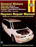 H38036 Haynes GM Chevrolet Venture Oldsmobile Silhouette Pontiac Trans Sport Montana 1997-2005 Auto Repair Manual