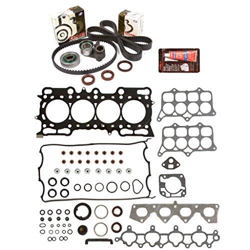 Evergreen HSTBK4017 Head Gasket Set Timing Belt Kit Fits 97-01 Honda Prelude 2.2L DOHC 16v H22A4 - Honda Prelude Head Gasket