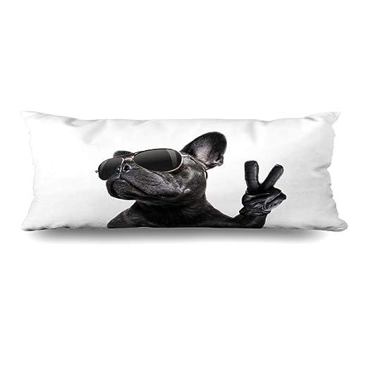 Ahawoso Funda de almohada con cierre, 20 x 60 pulgadas, para ...