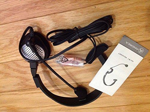 Andrea Anti Noise Analog Computer Headphones Nc-91 ()