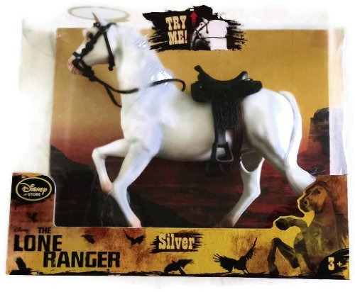 (Disney The Lone Ranger - Silver the horse Action Figure with sound - 11