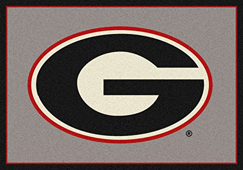 NCAA Team Spirit Rug - Georgia Bulldogs ''G'', 7'8'' x 10'9'' by Millilken