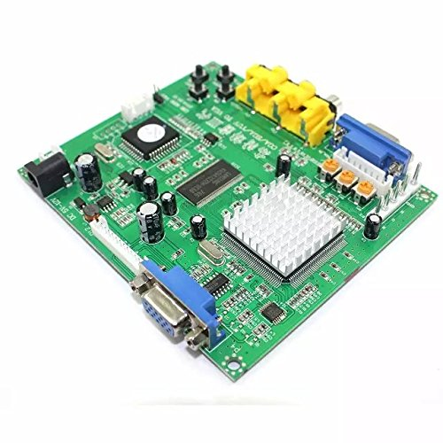 Paddsun US New for Video Converter CGA/EGA/YUV/RGB TO VGA HD Video Converter Board 1 VGA Output Arcade Jamma Game Monitor to LCD GBS-8200