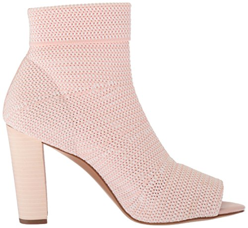Filles Pink Stretch White Sandal Les Avec Avec Knit Mariah Heeled Women's S65Ww1q