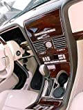 LINCOLN NAVIGATOR INTERIOR BURL WOOD DASH TRIM KIT SET 2003 2004