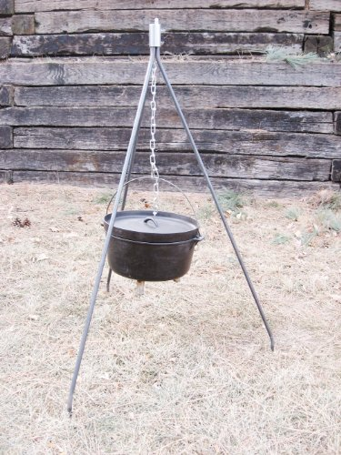 The King CAMP H.Y.D.O.H. – Professional Grade - Camping Fire Pit Tripod