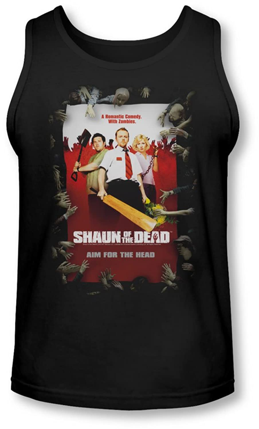 Shaun Of The Dead - Mens Poster Tank-Top