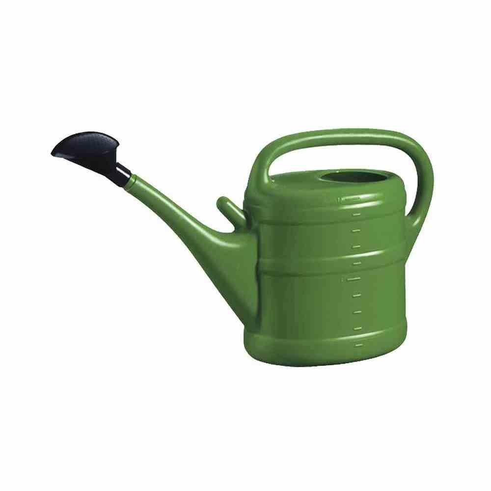 Geli Kunststoff-Gießkanne 10 l, grün, mit Aufsteckvorrichtung