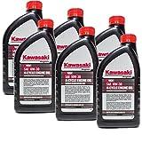 Kawasaki 99969-6081 Pack of 6 Quarts 4 Cycle Engine Oil 10W-30