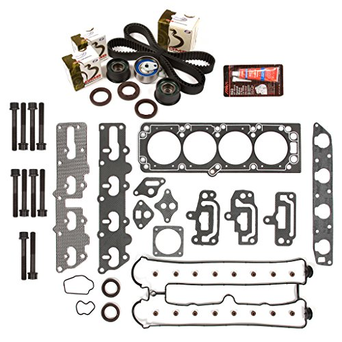 Suzuki Forenza Set - Evergreen HSHBTBK7012-2 Head Gasket Set Head Bolts Timing Belt Kit 04-08 Suzuki Forenza Reno 2.0 A20DMS