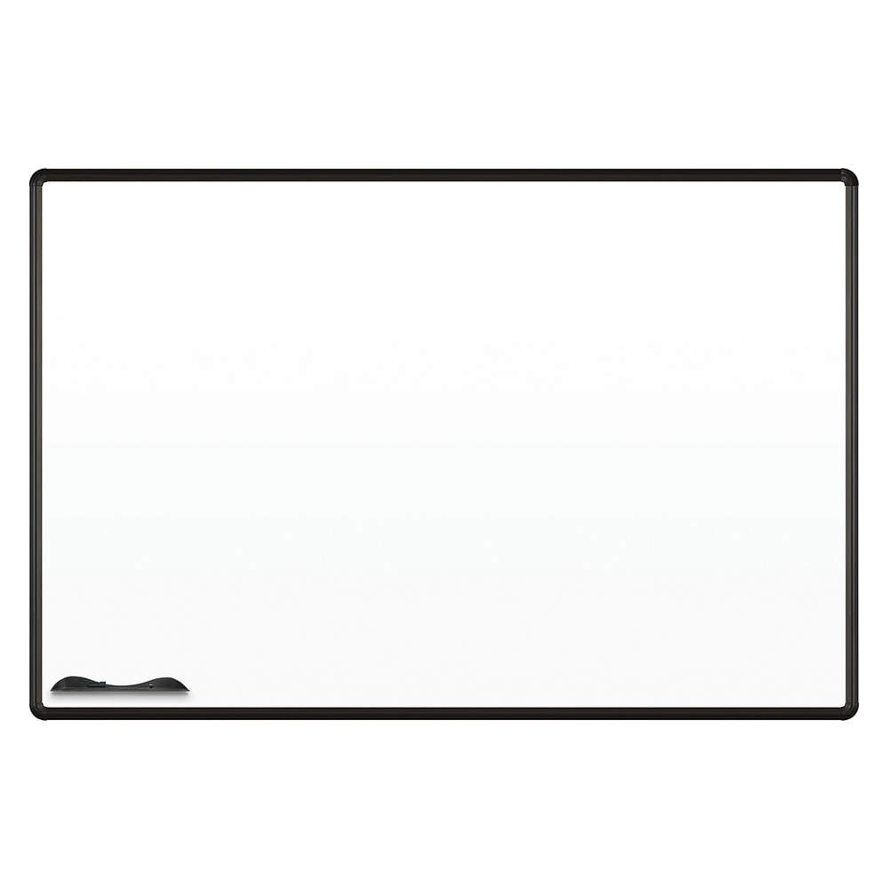 """Magne-Rite Presidential Trim Wall Mounted Whiteboard Size: 48"""" x 72"""", Trim Color: Black"""