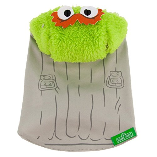 Sesame Street Oscar The Grouch Dog Costume LARGE