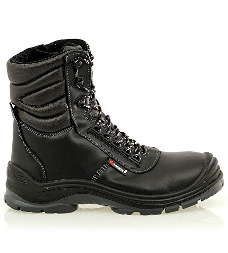 Chaussures de sécurité thermiques Security Zip S3 CI SRC noires