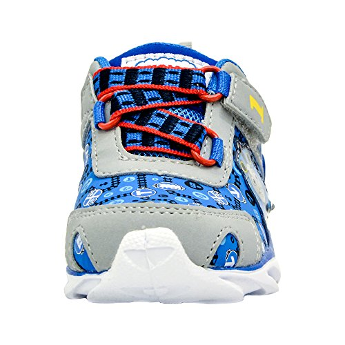 Kids Toddler Boys Thomas The Tank Engine Light up Sneakers Blue Size 5 by Thomas And Friend (Image #4)