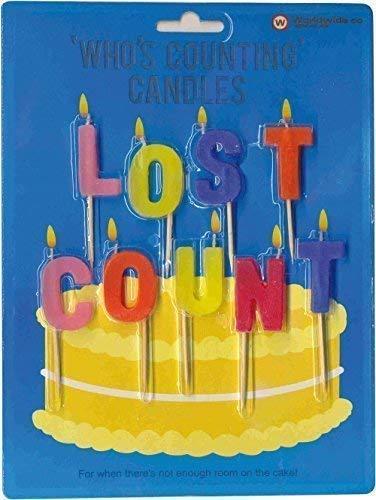 2X NPW Who' s Contare candele–perduto numero