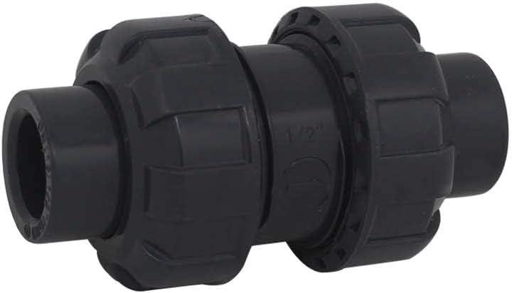 Clapet anti retour a boule 20 25 32 40 50 63mm clapet piscine clapet antiretour anti refoulement pvc vanne soupape anti retour Diam/ètre int/érieur 20mm