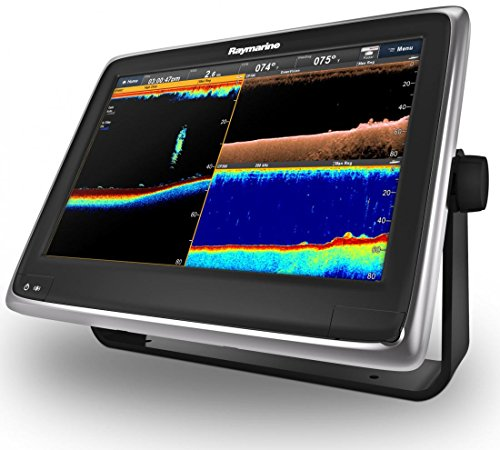Raymarine E70237-US a128 12.1 in. MFD Combo with Wi-Fi & CHIRP DownVision - US Lake Fish Finders And Other Electronics
