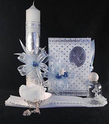 Baptism Blue Candle Set Accessoryiz product image