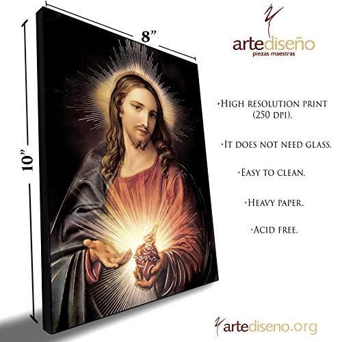 (Artediseño piezas maestras Sacred Heart of Jesus Christ II (8