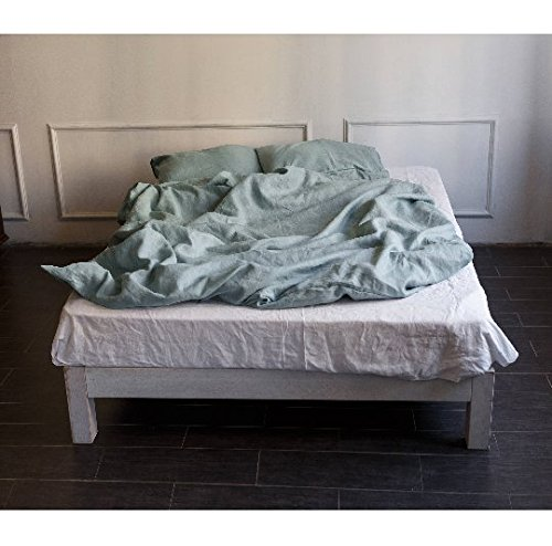 Linen bedding set, linen bedding queen, linen luxury bedding set, linen duvet cover, SET of duvet cover and pillowcases, bedding set by HOOTA / feel nature