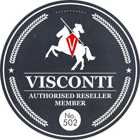 Visconti Sac de Messenger//Sac de Voyage Compact en Cuir S7 Bronzage Huile