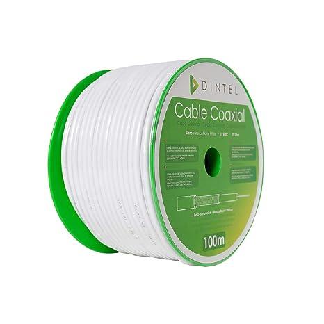 Bobina Cable Coaxial 100m Dintel