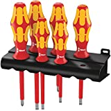 Wera Kraftform Plus 160i/6 Insulated Professional Screwdriver Set, 6-Piece