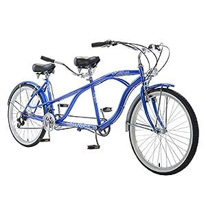 Hollandia Rathburn Tandem Bike, 26 inch Wheels, 18 inch Frame, Unisex, Blue