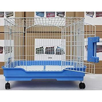 Jaula para Perros, Jaula Plegable para Perros/Gatos / Conejos pequeños - fácil de Mover, 2 Colores/tamaño: Amazon.es: Hogar