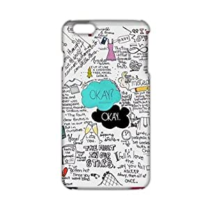 HNMD Okay 3D Phone Case for Iphone 6 Plus