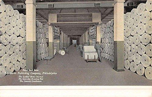 Philadelphia Pennsylvania Curtis Publishing Company Antique Postcard K50630
