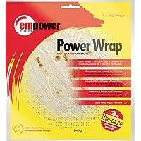 Empower Foods Low Carb Tortilla Wrap- 7 x 35g Wraps