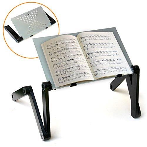 quicklift Hoja Música y Tablature Soporte Soporte de mesa con Función de construcción. Diseño plegable con altura...