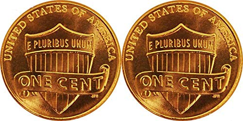 2019 P and D Lincoln Shield Cents - Penny Cent Lincoln Roll