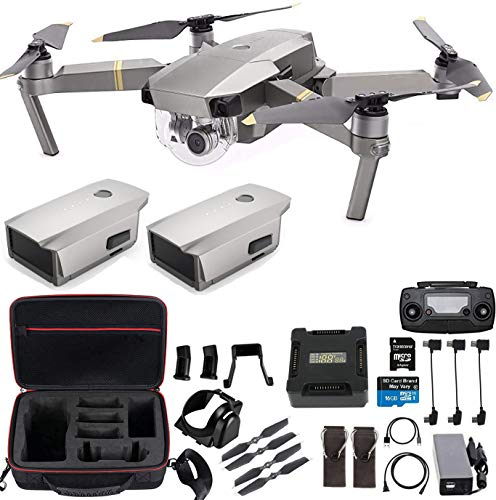 DJI Mavic Pro Platinum With Extra Battery, Professional Case and More