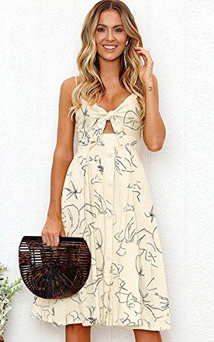 Summer Backless Swing Dress