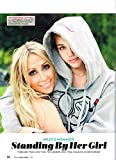 Miley Cyrus - Tish Cyrus - 11' x 8' Teen Magazine Poster Pinup Clipping - Year 2014