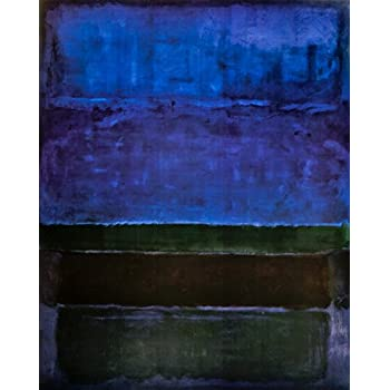 Mark Rothko Untitled Canvas Giclee Print Paintings Poster Reproduction Copy