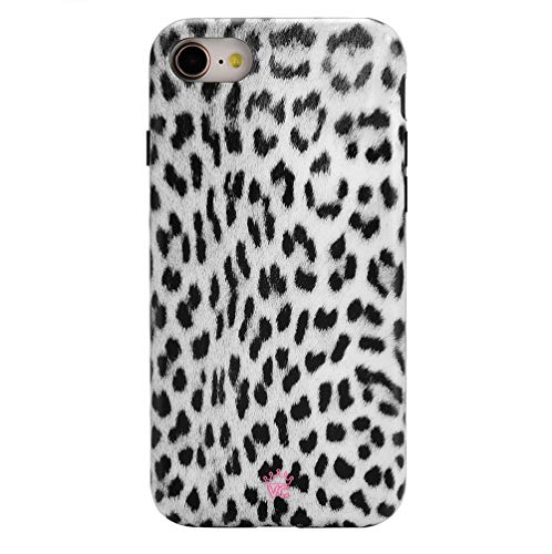 Leopard iPhone 8 Case/iPhone 7 Case Cheetah - Premium Protective Cover - Cute Phone Cases for Girls & Women [Drop Test Certified]
