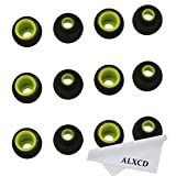 ALXCD Ear Tip for Jaybird X2 X Bluebud Earphone, MEDIUM Size 6 Pairs Soft Silicone Replacement Earbud Rubber Tips, Fit for Jaybird Bluebud X2 X Bluebud Bluetooth Earphone [M-6 Pair]
