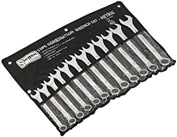 Siegen S0634 Ratchet Combination Spanner Set 12 Piece Metric
